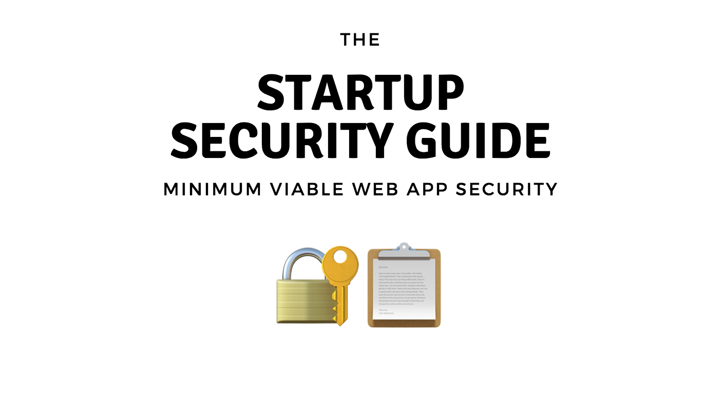 A checklist of guidelines for securing a new product