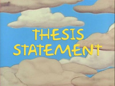 Developing A Thesis | - Harvard Writing Center